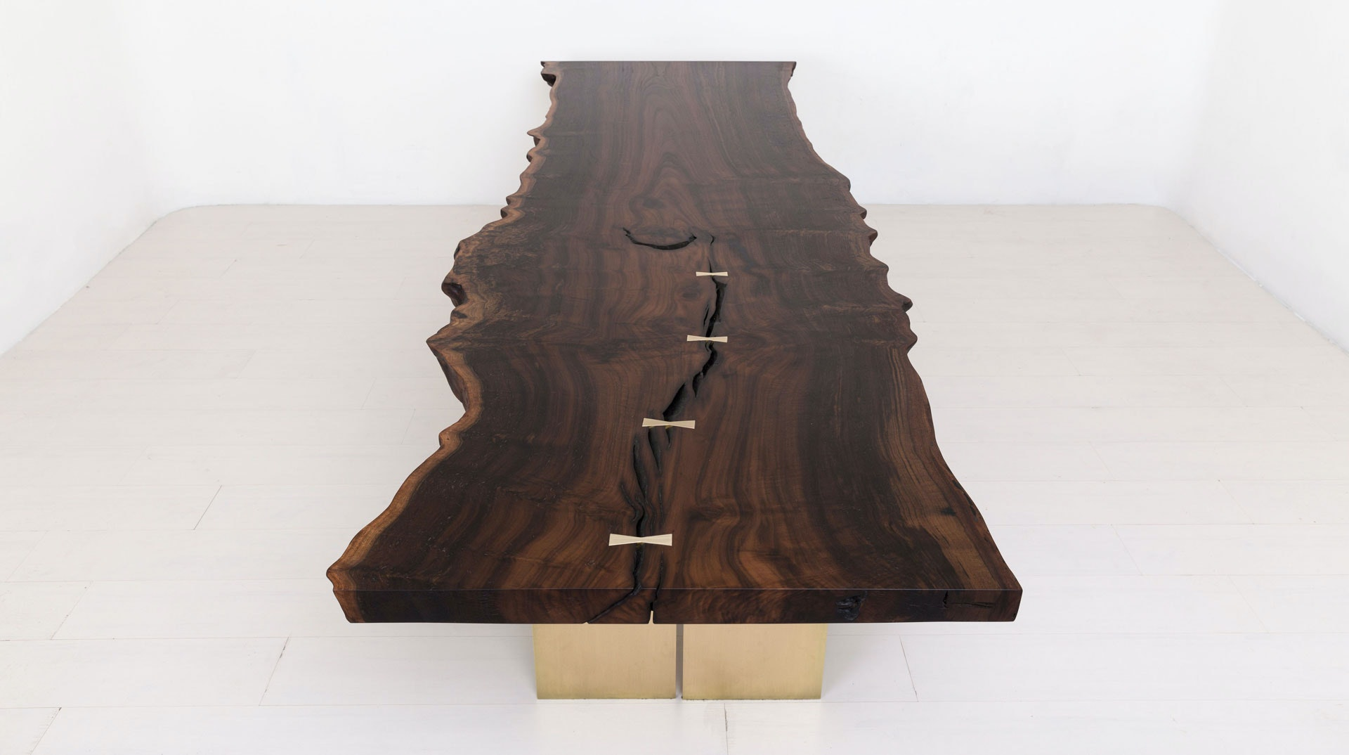 Beech, Walnut, Poplar, Ambrosia, Maple, And Hickory: These Are Only Five Of  Many Types Of Woods That Reclaimed Table Offers, Atop Customizable Bases In  ...