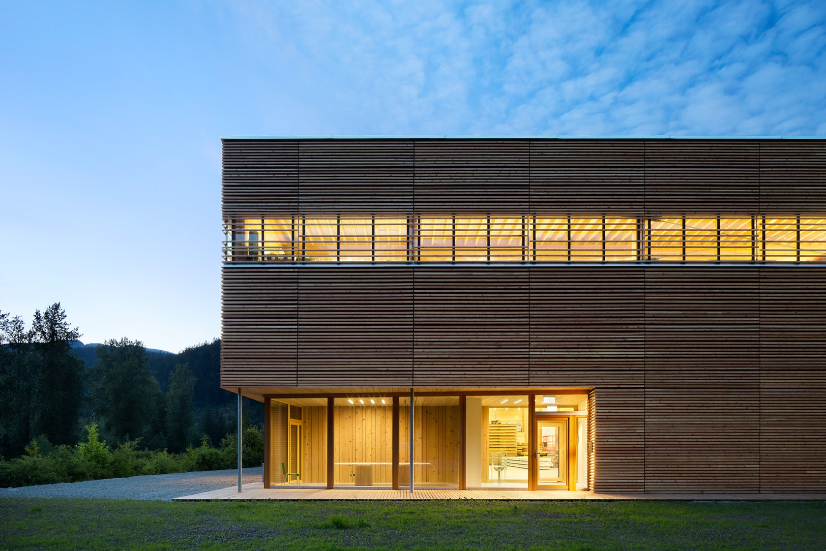 Bc Passive House Factory Architizer
