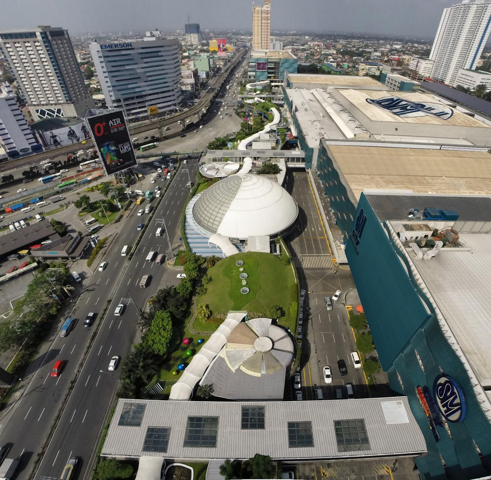 Sm City North Edsa Sky Garden Architizer
