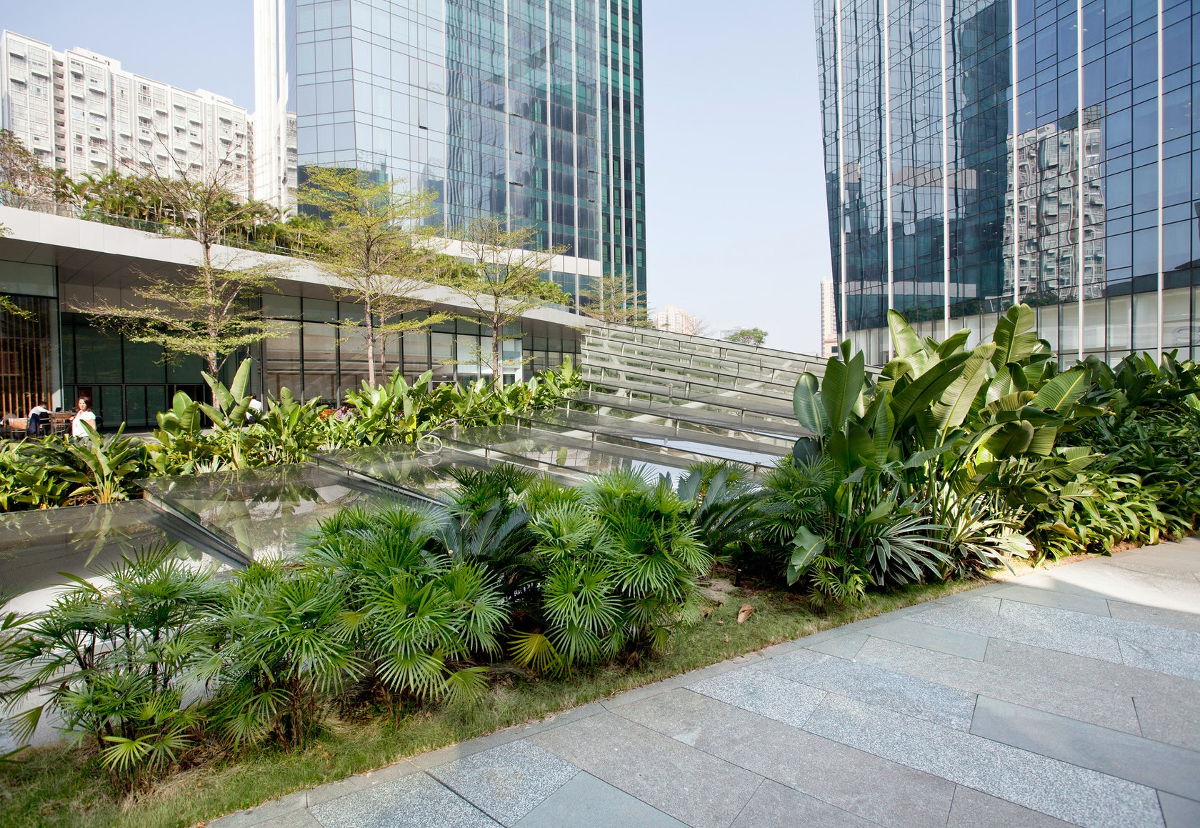Taikoo Hui Green Roof And Plazas Architizer