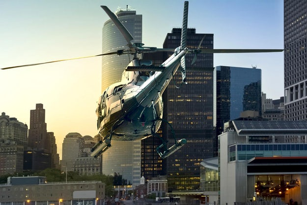 The 6-Minute Commute: The Uber of Helicopters Takes Off in