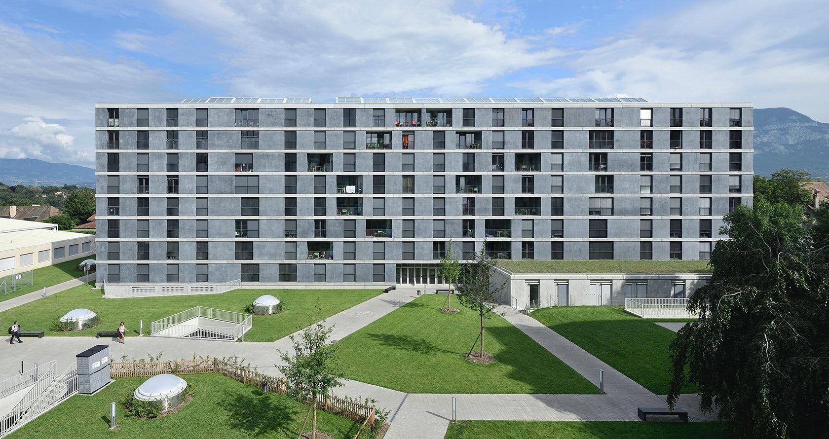 Student Housing in Geneva - Architizer