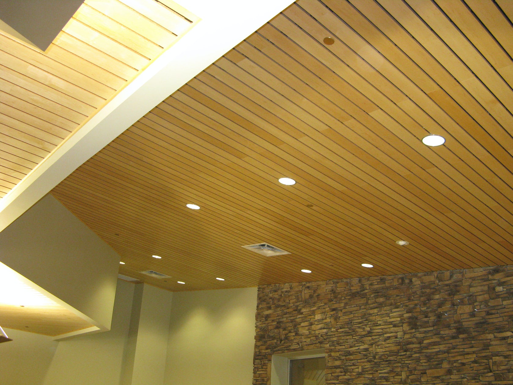 Linwood Linear Wood Ceiling Amp Wall Panels Architizer