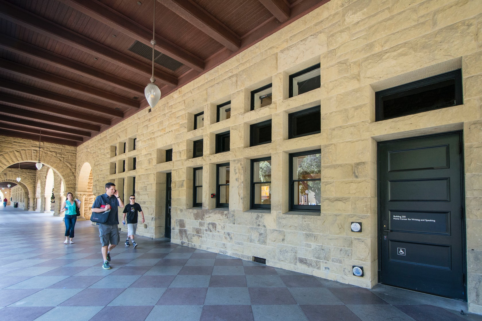 Hume center for writing and speaking
