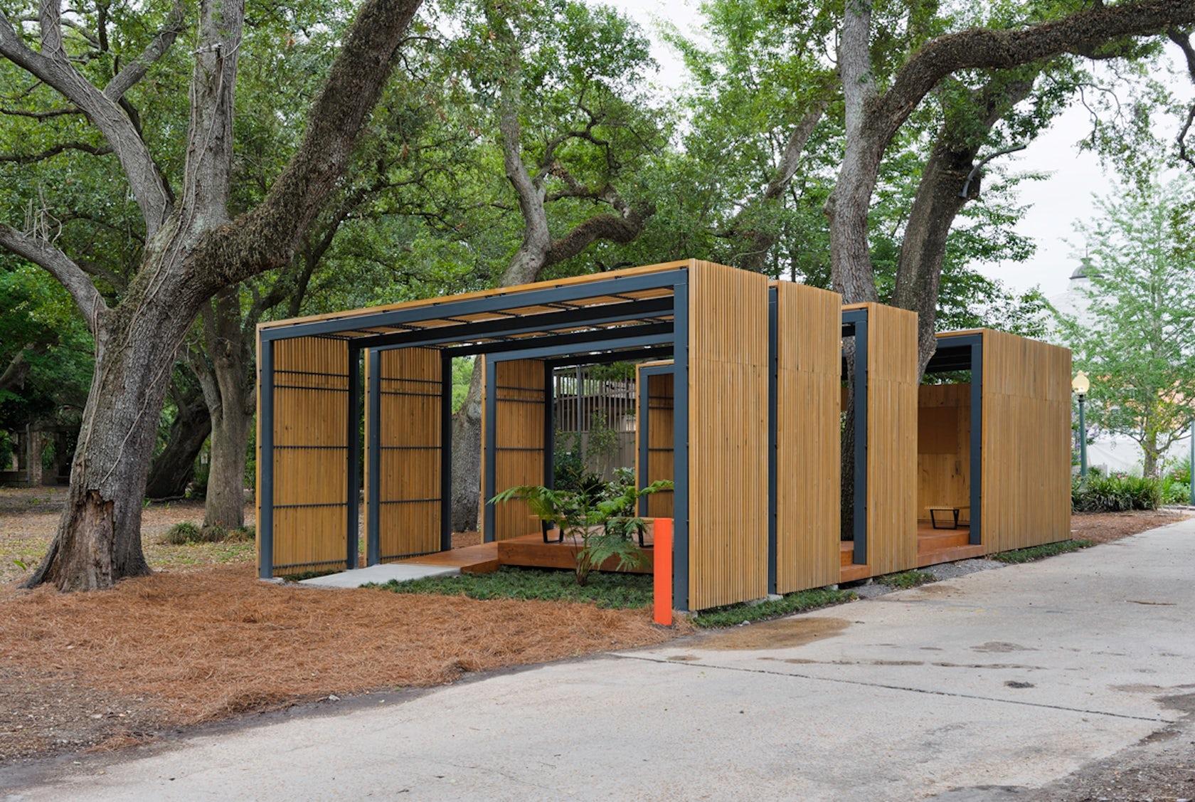 Duplantier Volunteer Pavilion Architizer
