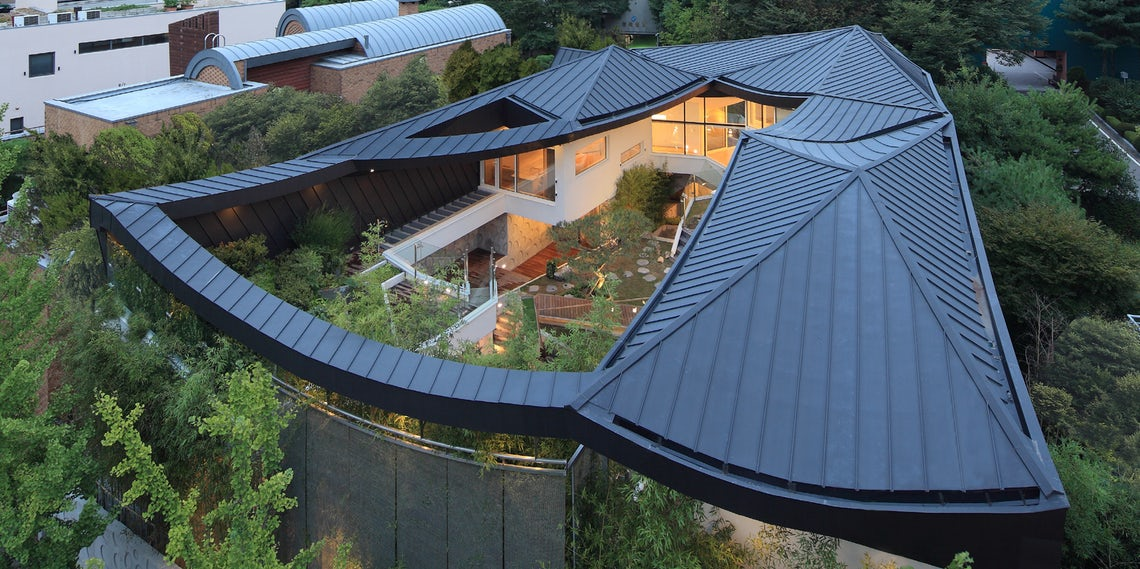 Built To Last 7 Zinc Roofs That Will Stand The Test Of Time Architizer Journal