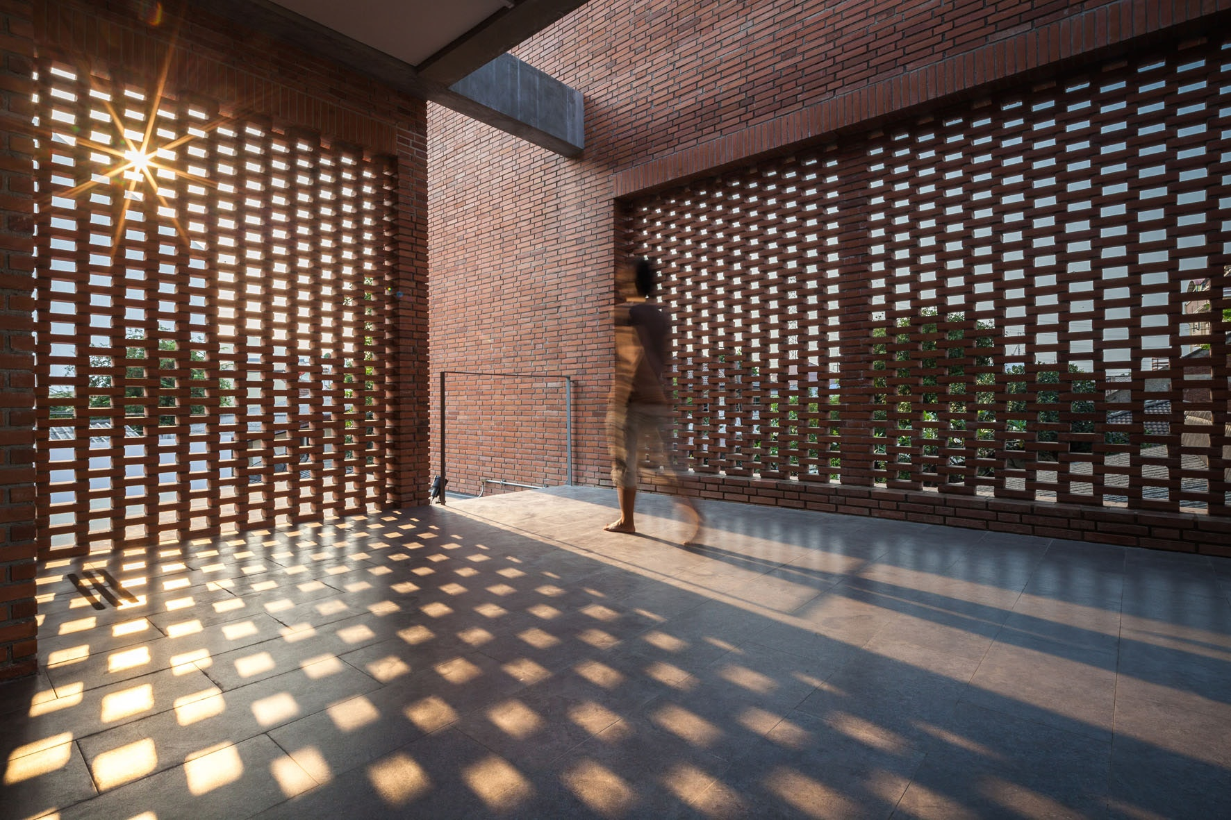 7 Clever Projects Utilizing Perforated Brick Façades