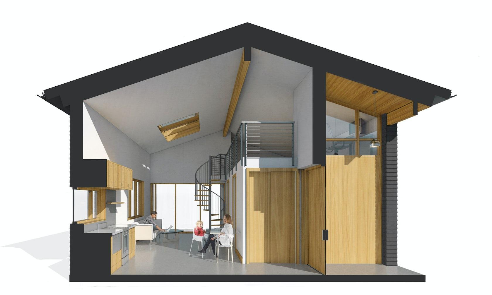 Northwest Modern Adu Architizer
