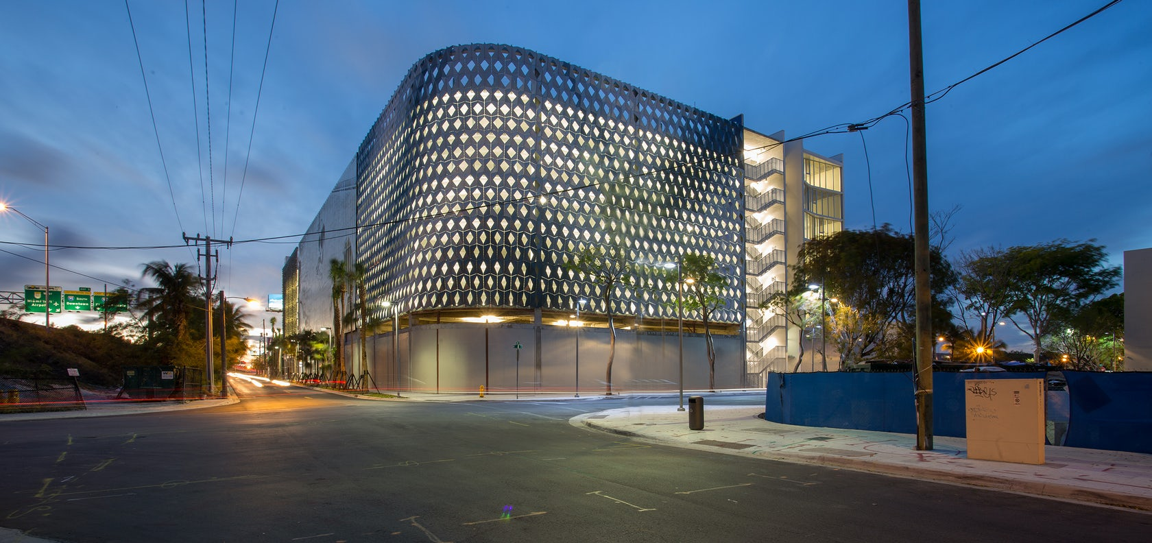 City View Garage Miami Design District Architizer