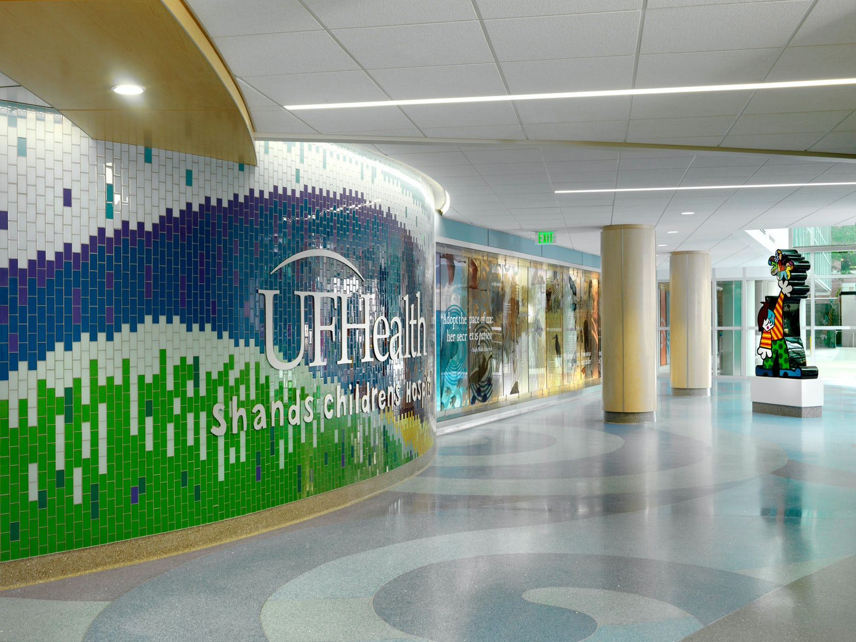 Uf Health Shands Children S Hospital East Entry Renovation