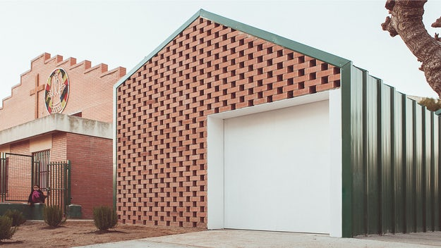 7 Clever Projects Utilizing Perforated Brick Facades