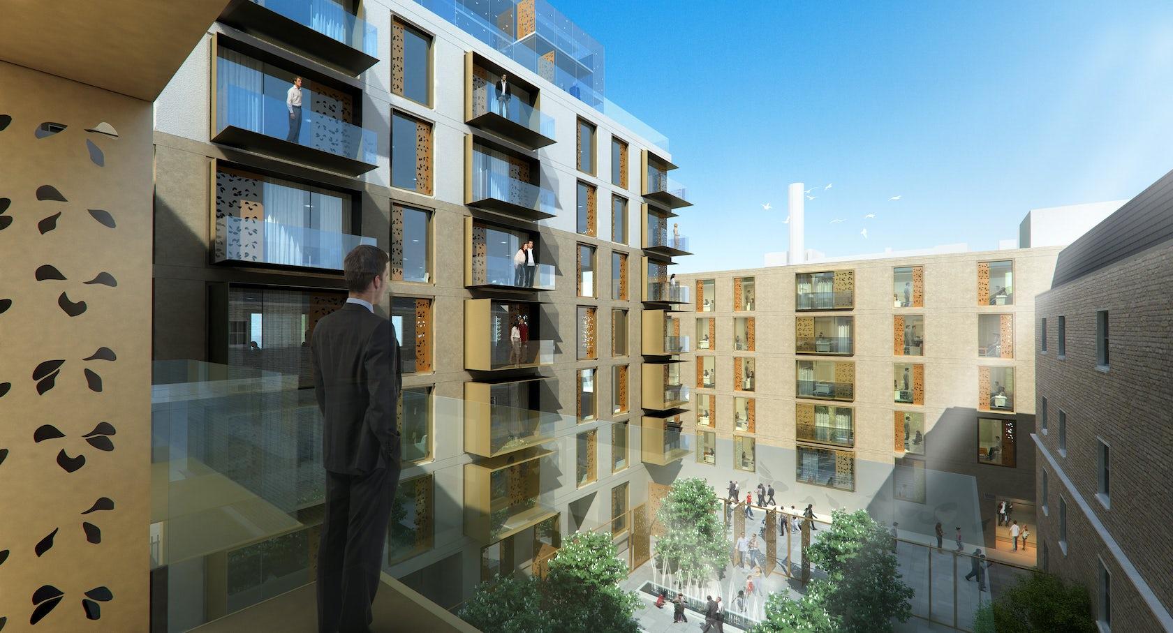 Cleveland Website Design Development Firm: Cleveland St Housing Development
