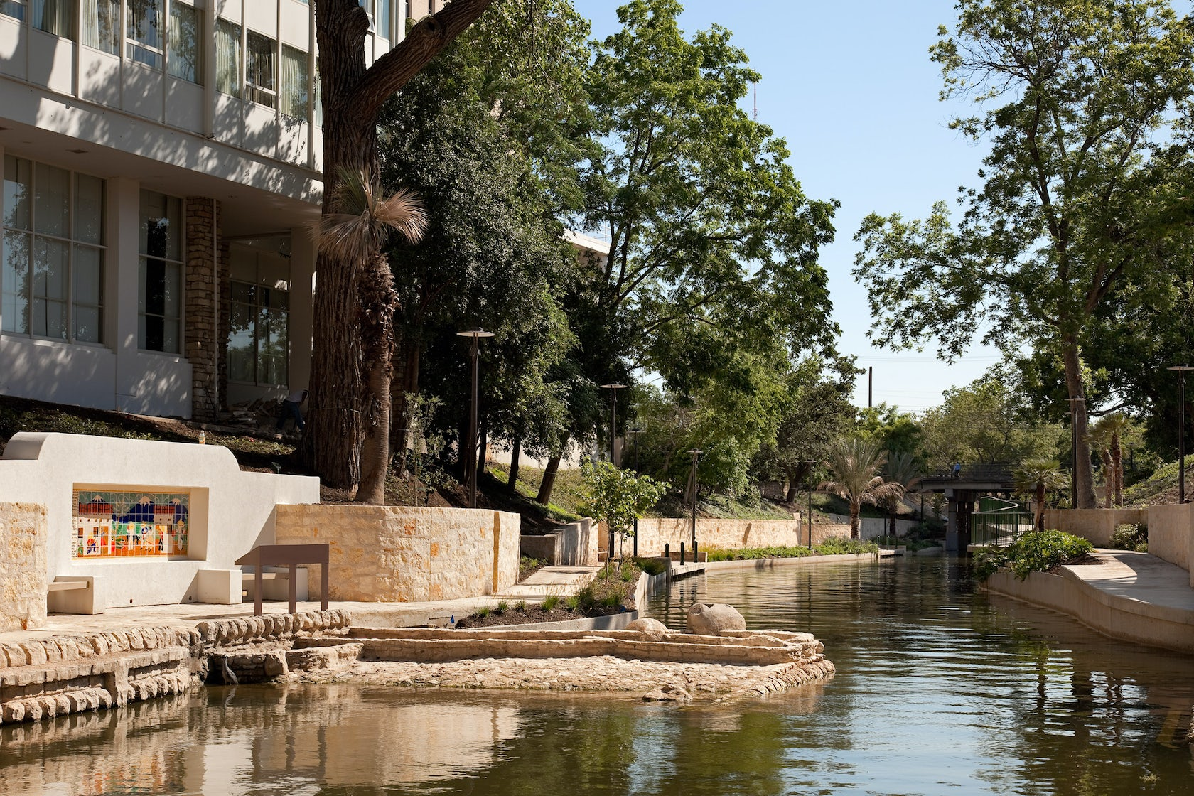 San Antonio Riverwalk Museum Reach Extension Architizer
