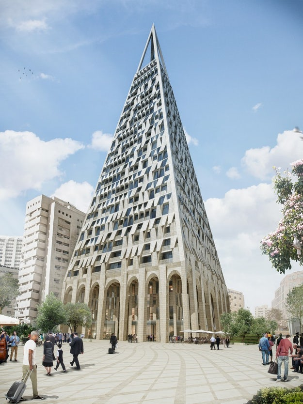 Making a Point: Daniel Libeskind Proposes a Contemporary