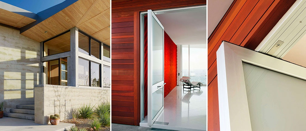 Various pivot-door styles by Weiland. & Pivotal Moments: 7 Pivot Products Opening New Doors - Architizer Journal