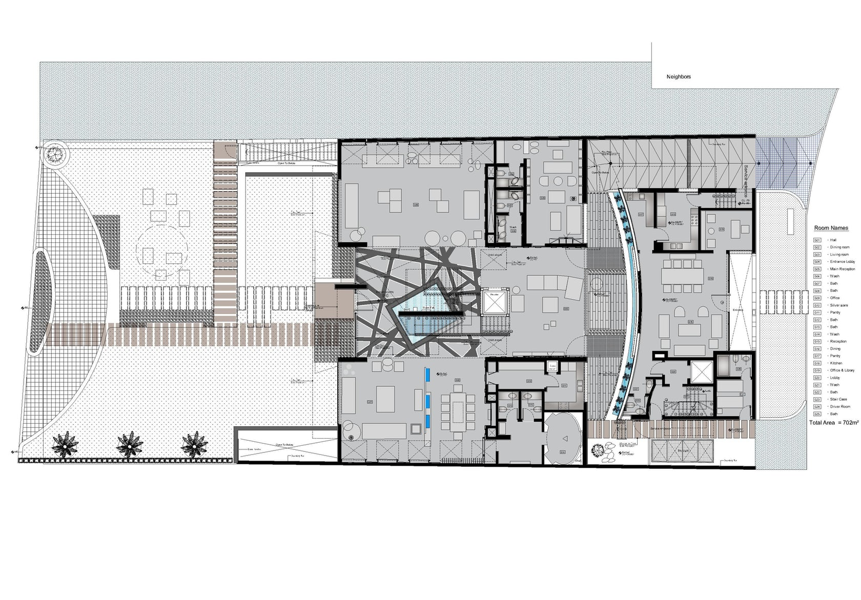 Al saif residence in kuwait architizer for Home design roma
