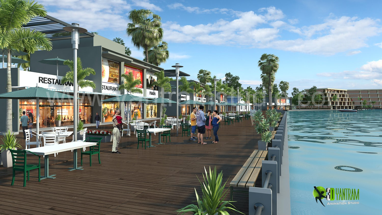 3d Hotel Resort Exterior Design On Architizer