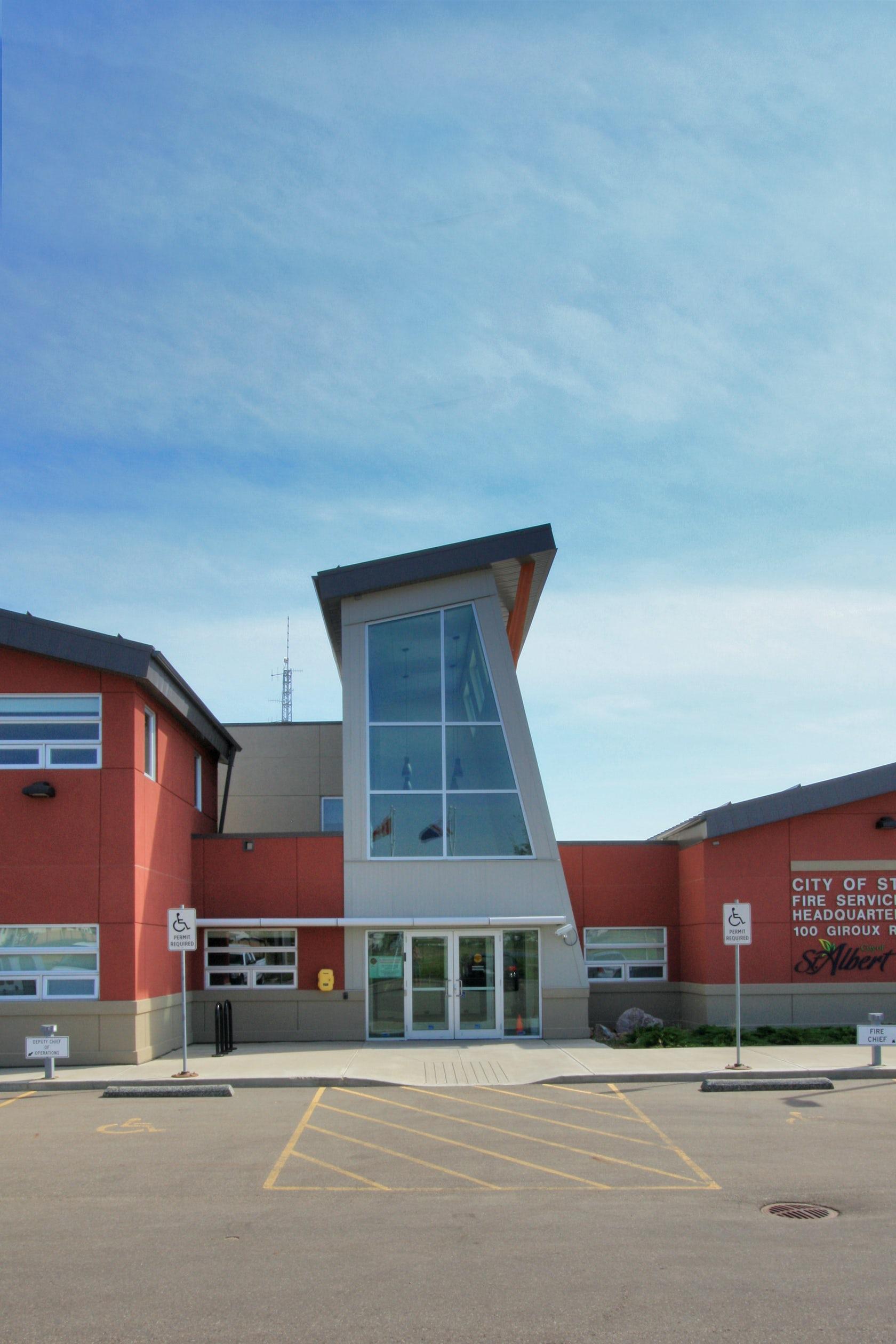 St Albert Fire Ems Headquarters On Architizer