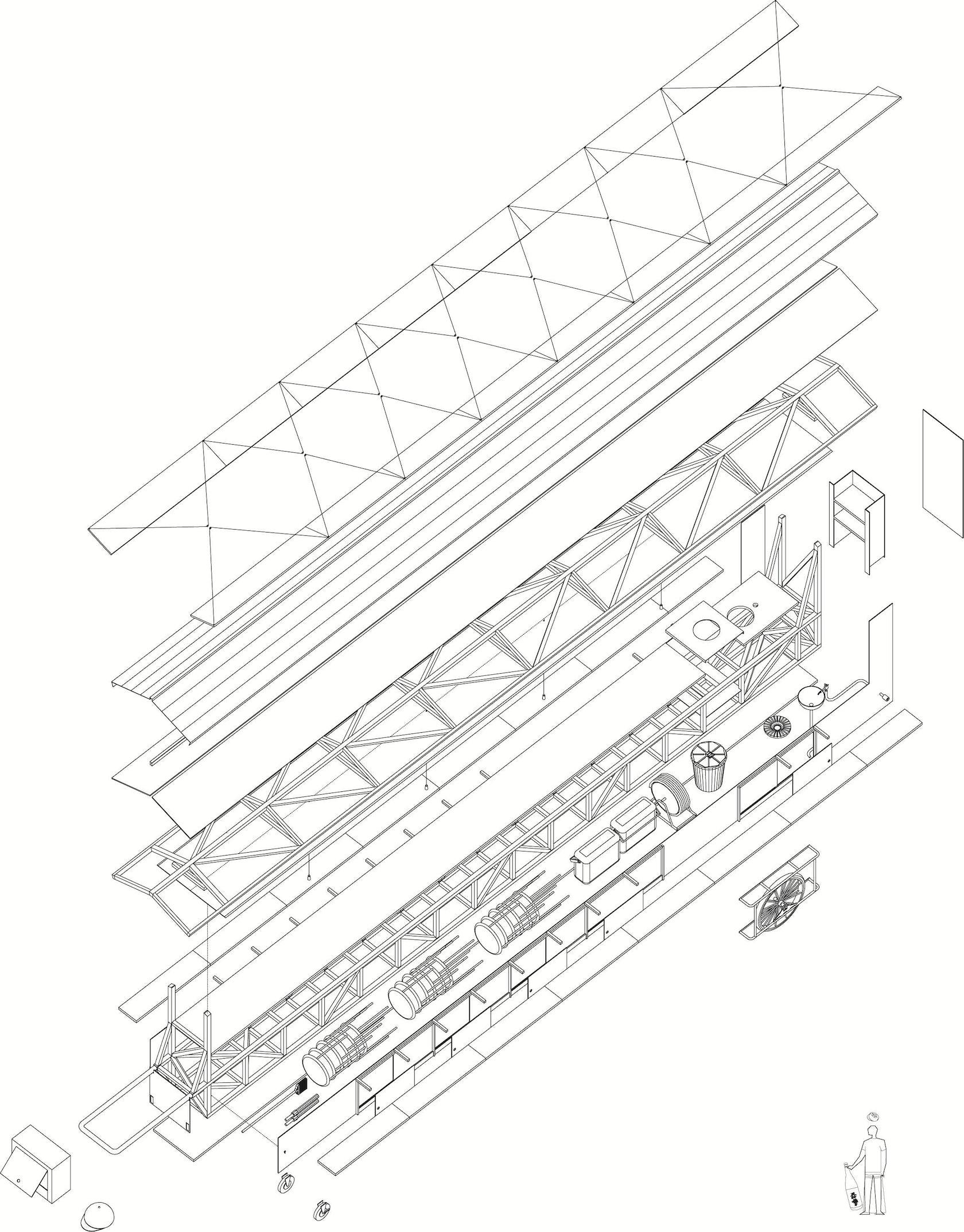 BMW Mountain View >> White Limousine Yatai - Architizer