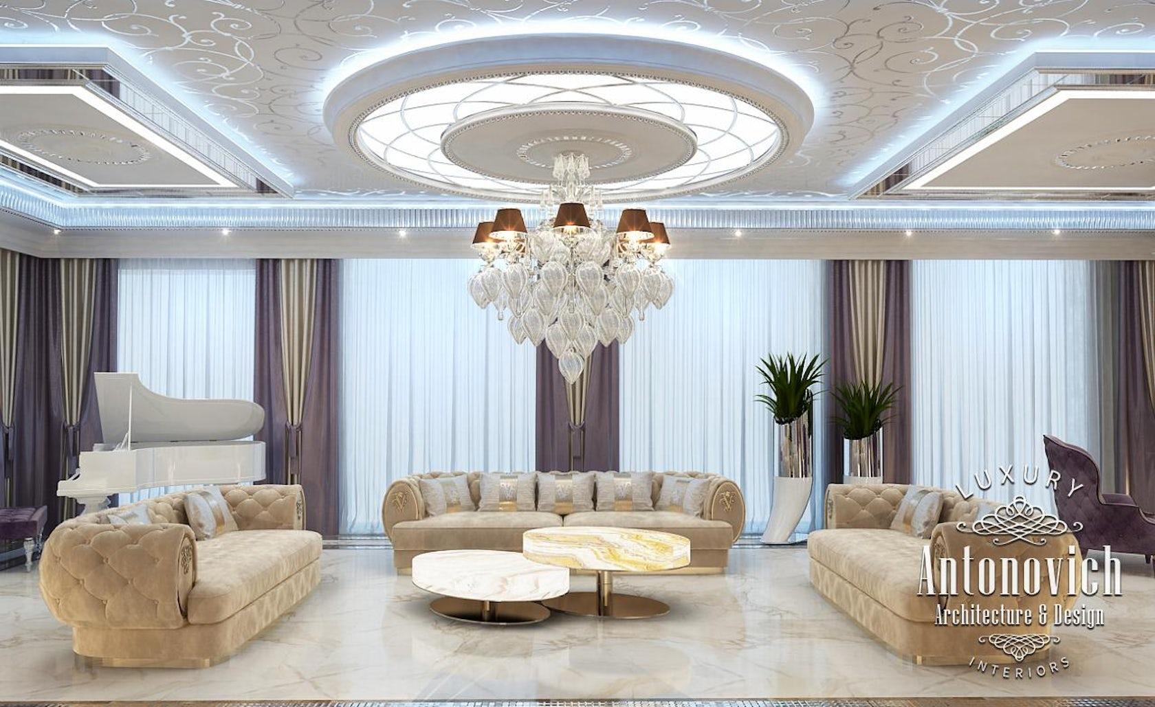 Luxury Interior Design Dubai From Katrina Antonovich On Architizer