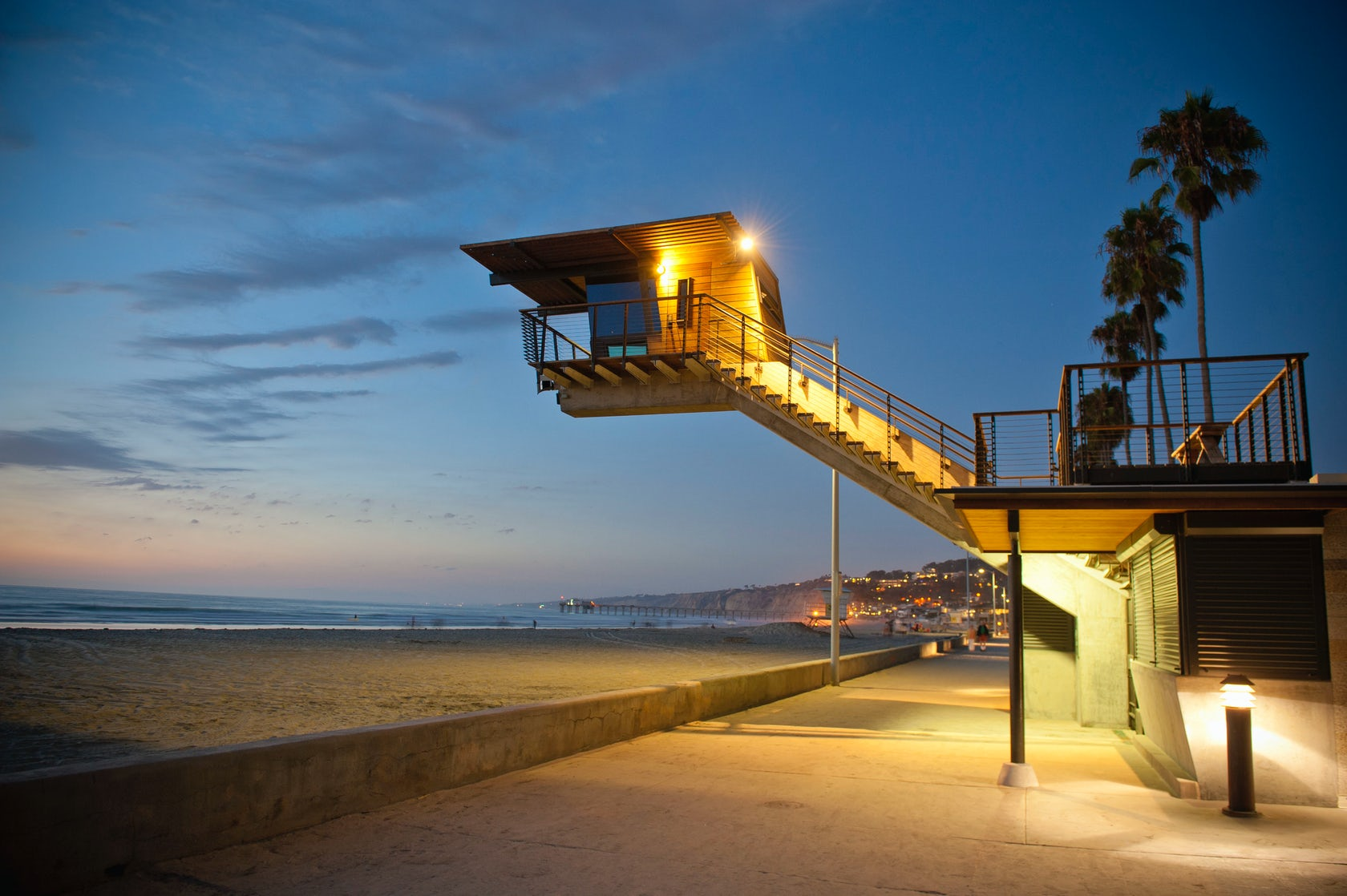 La Jolla Shores Lifeguard Station Architizer