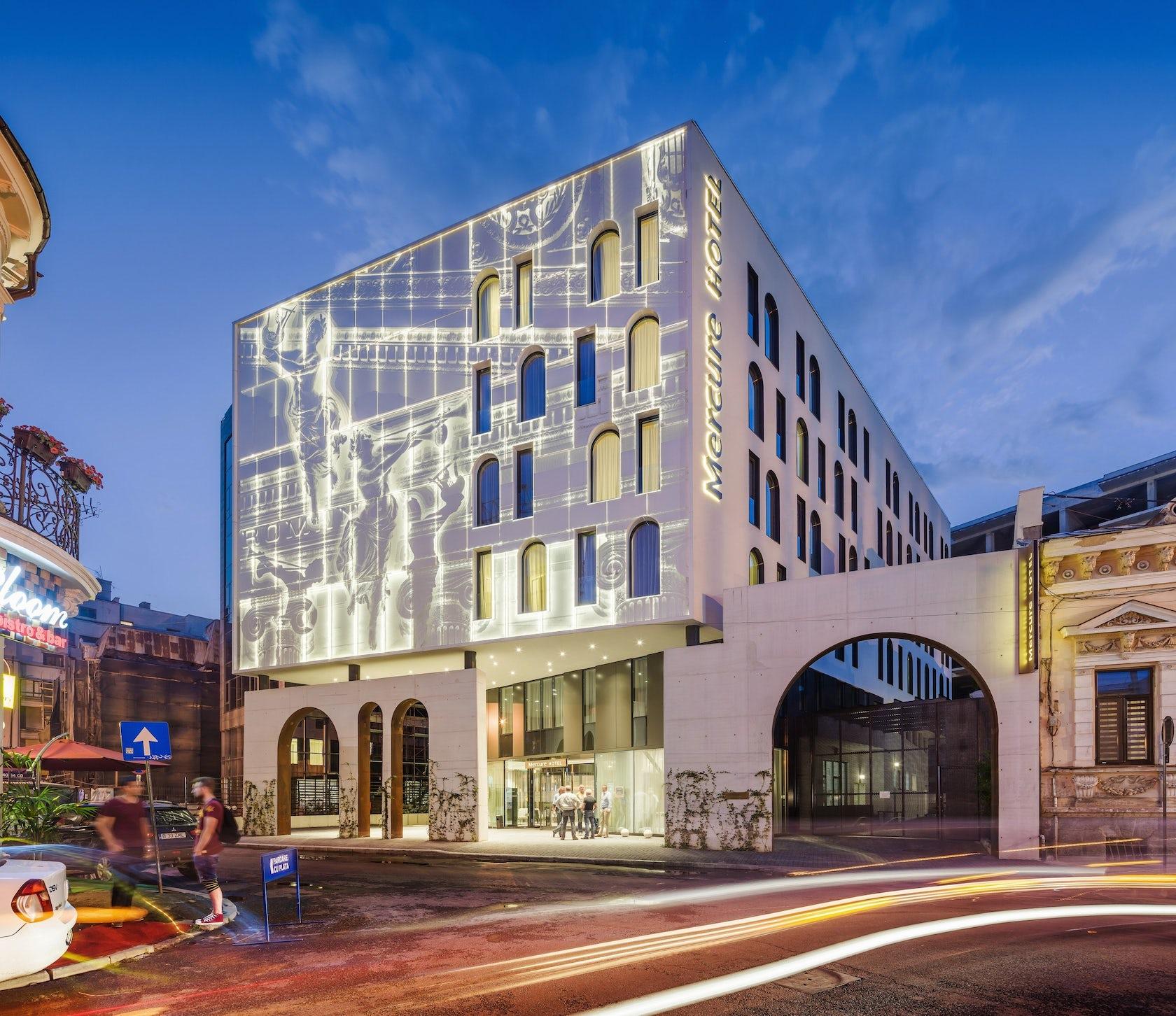 Hotel Mercure Bucharest City Center - Architizer