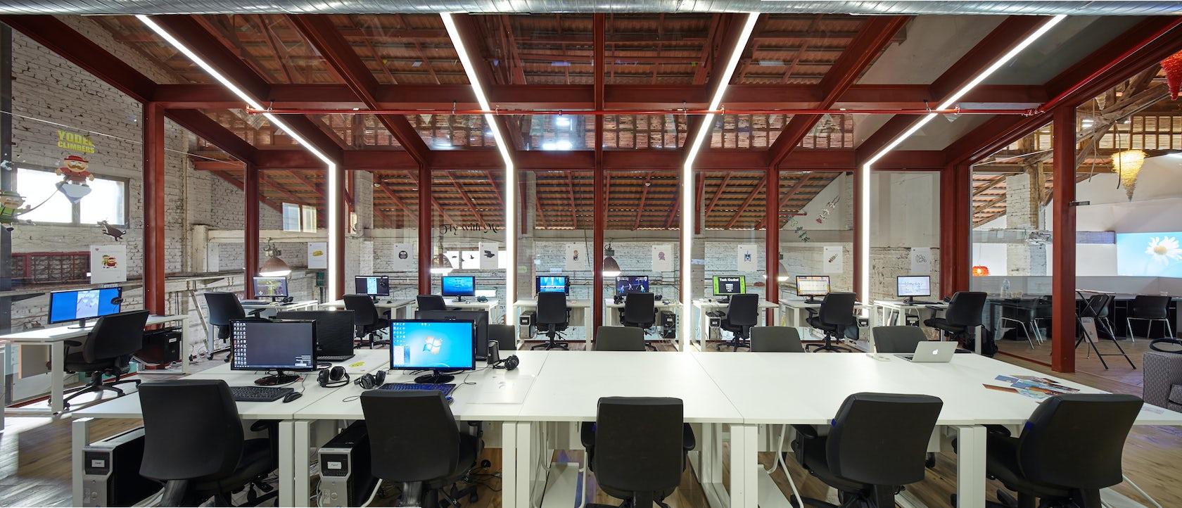 The Glass Gallery Shenkar College The Kadar Media Lab Building On Architizer