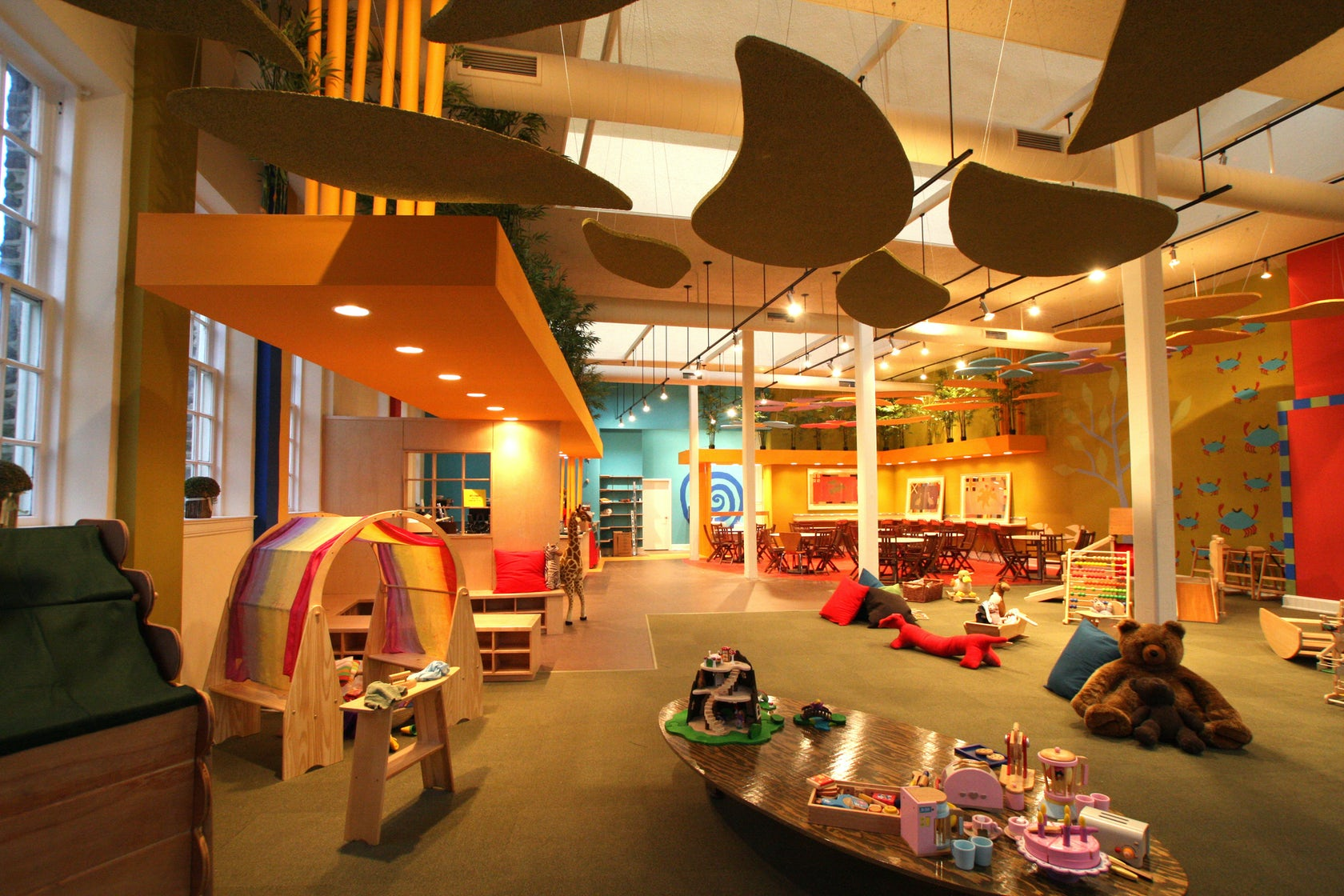 The little treehouse play cafe architizer - Interior design jobs philadelphia ...