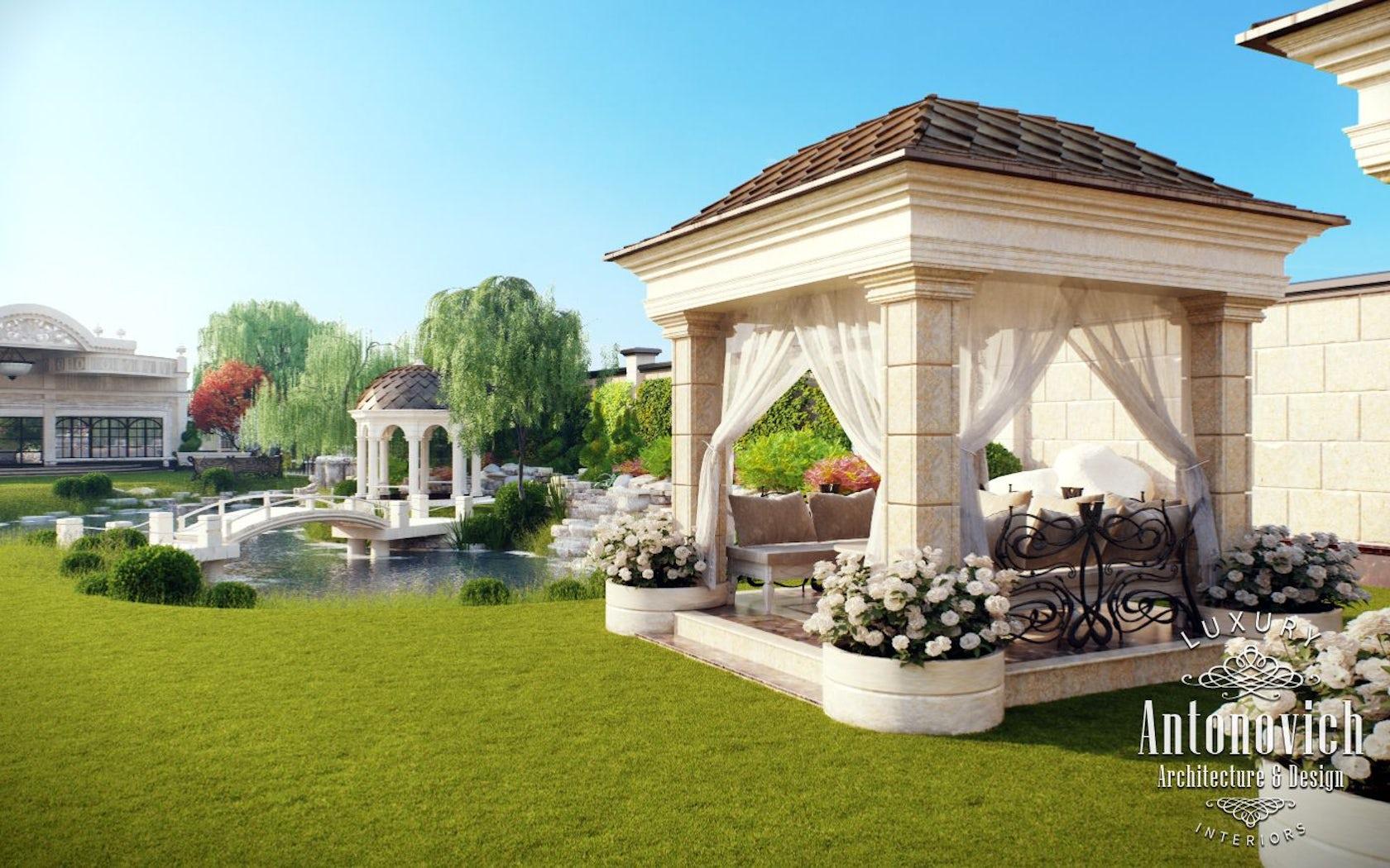 Garden landscaping dubai from luxury antonovich design on
