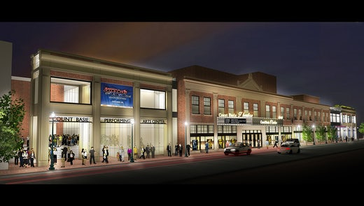 Count Basie Theater Master Plan / Addition / Renovation