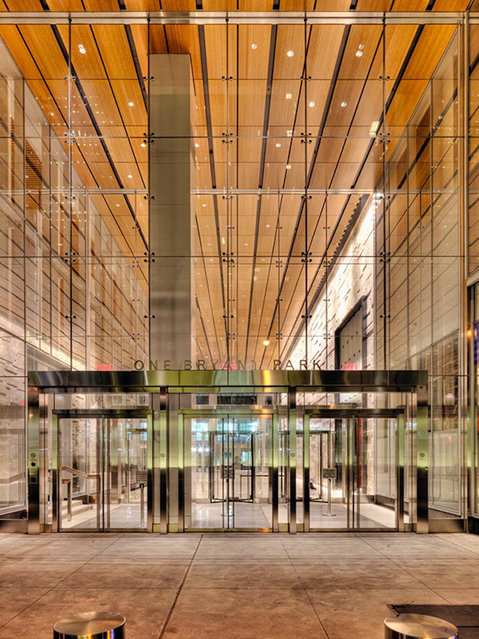Bridge Street Auto >> Bank of America Tower at One Bryant Park (Lighting Design) - Architizer