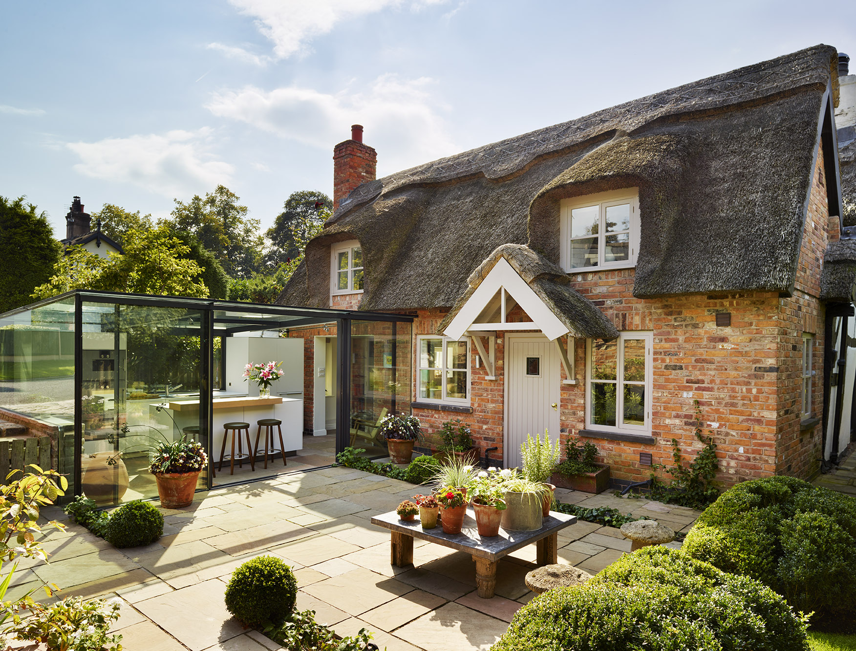 Blending Old and New: 6 Bold Glass Additions to Traditional English Homes