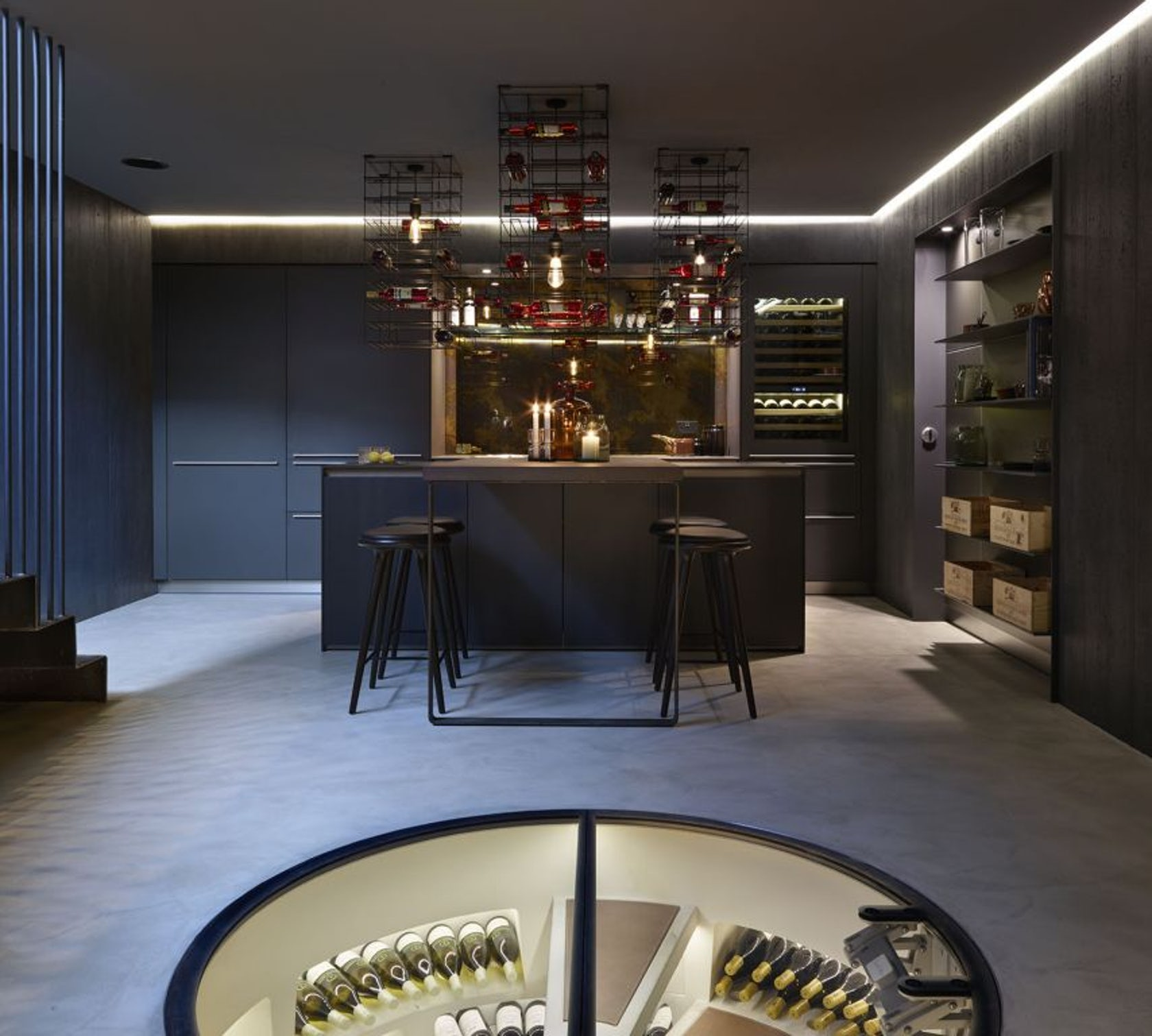Kitchen Showrooms Nyc: Kitchen Architecture's Bulthaup Showroom In London
