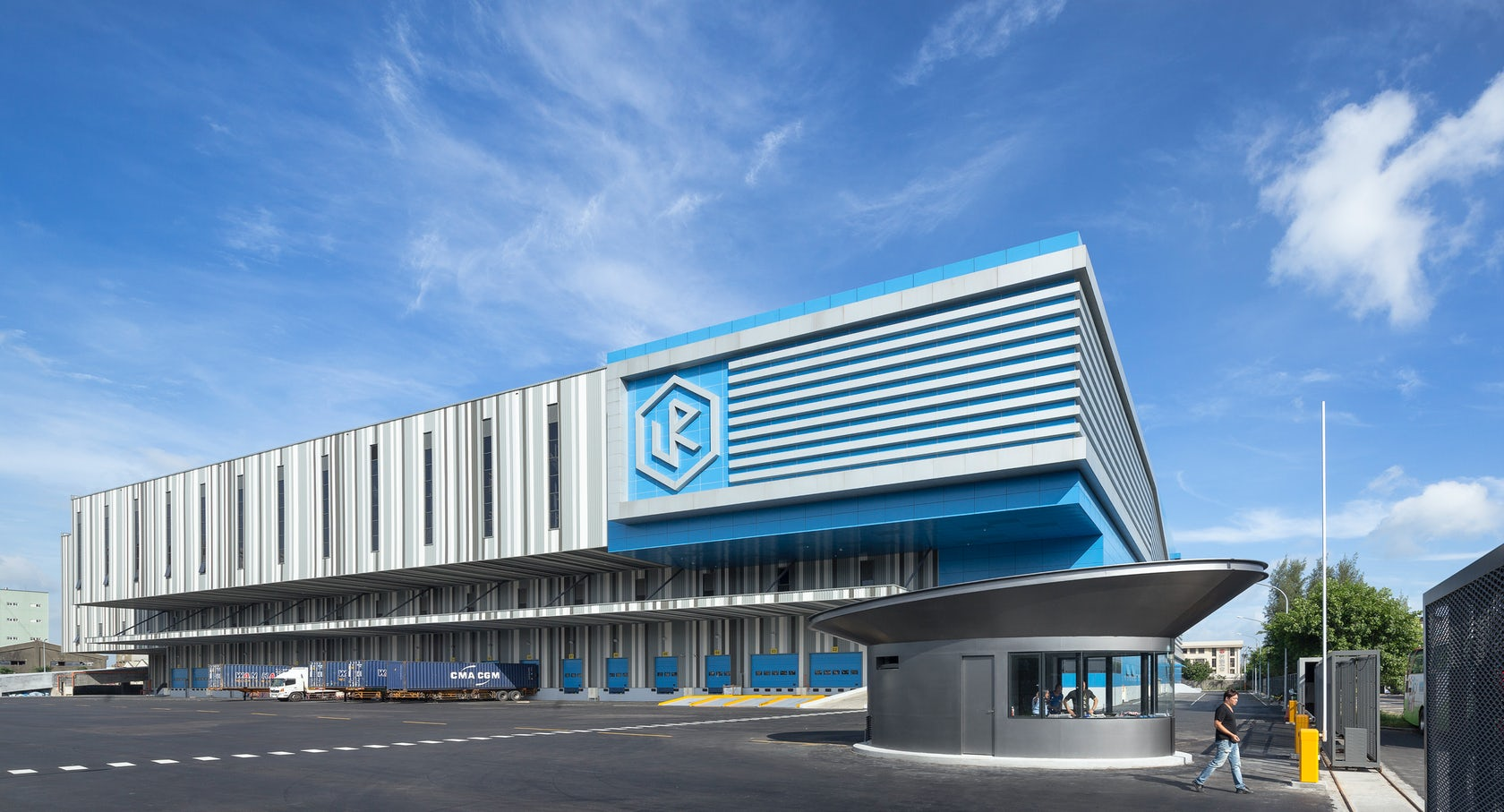 Alp Logistic Center Architizer