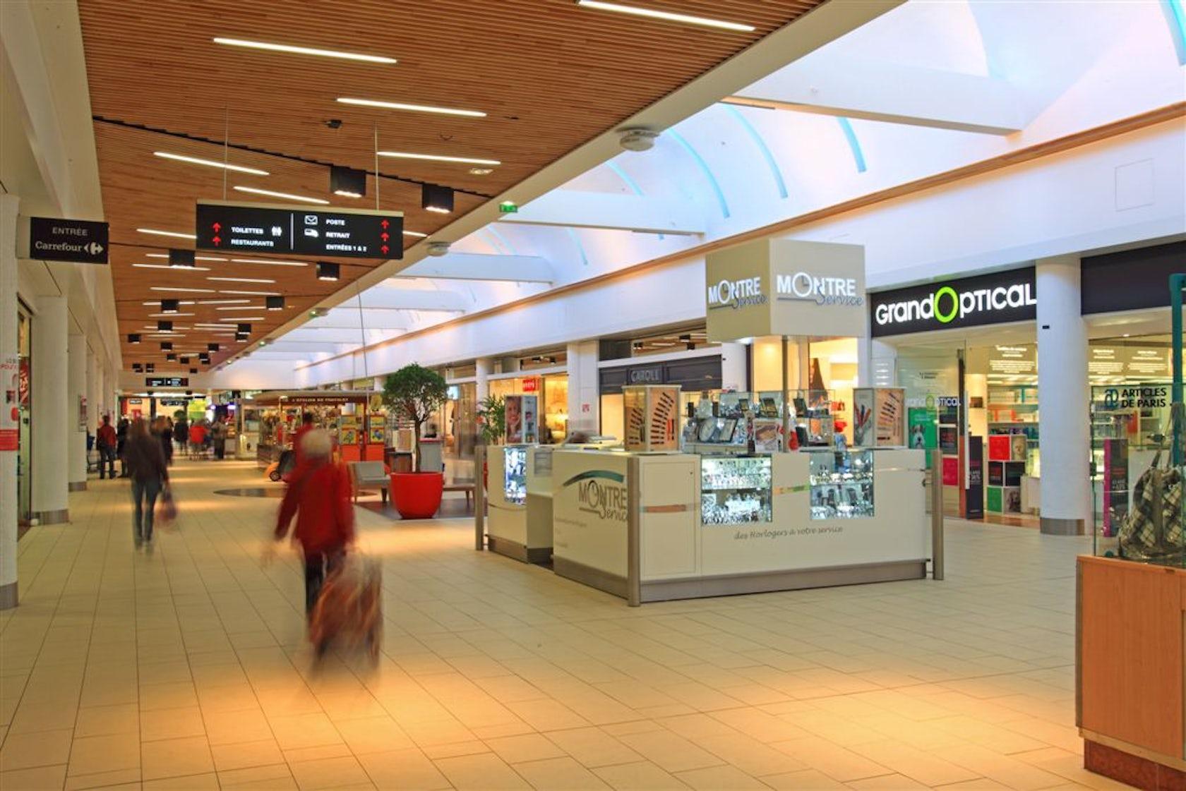Paris Materiaux Villeneuve La Garenne centre commercial bab 2 on architizer