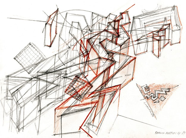 How Architecture Is Born: 7 Poetic Sketches by Daniel Libeskind and the Buildings They Inspired