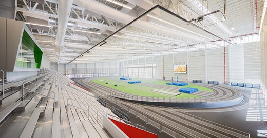Ocean Breeze Track and Field House