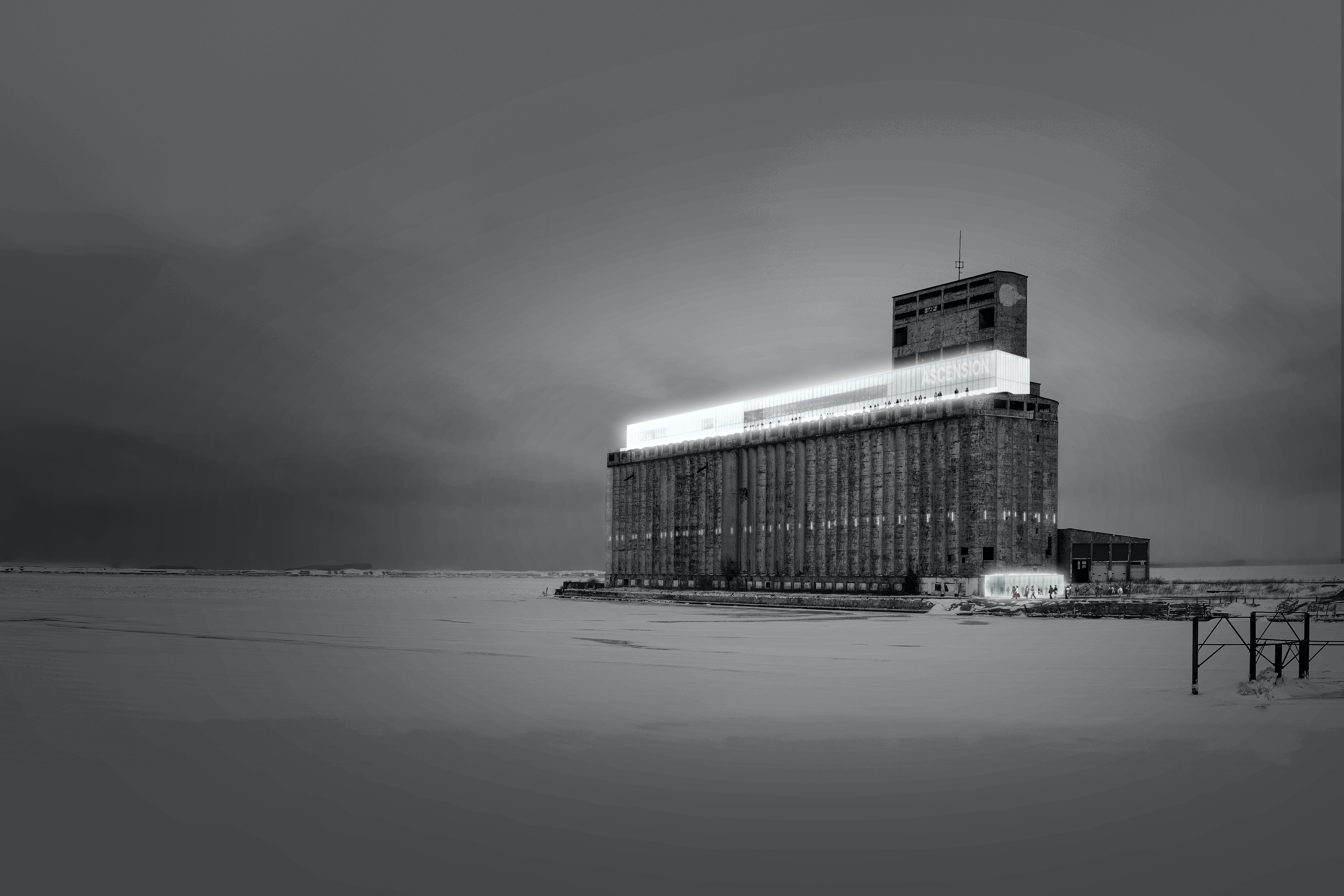 Cathedrals Of Light Transforming The Urban Silo