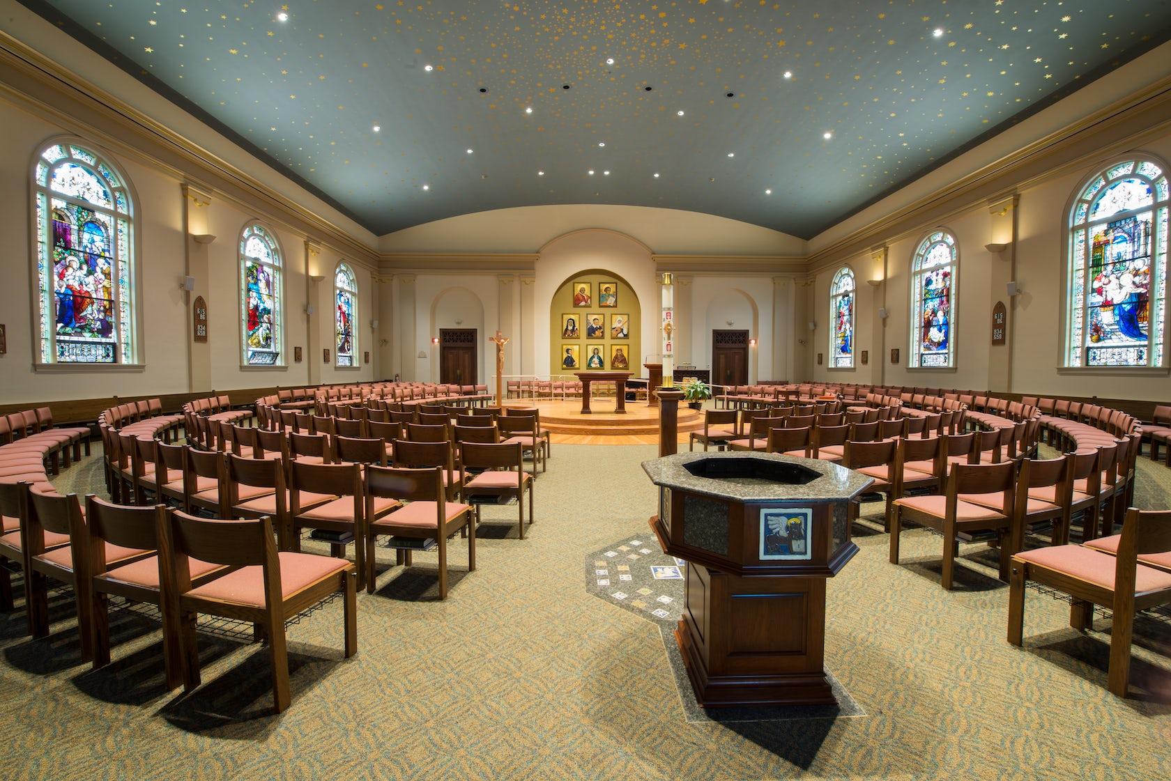 St Vincent De Paul Church Architizer