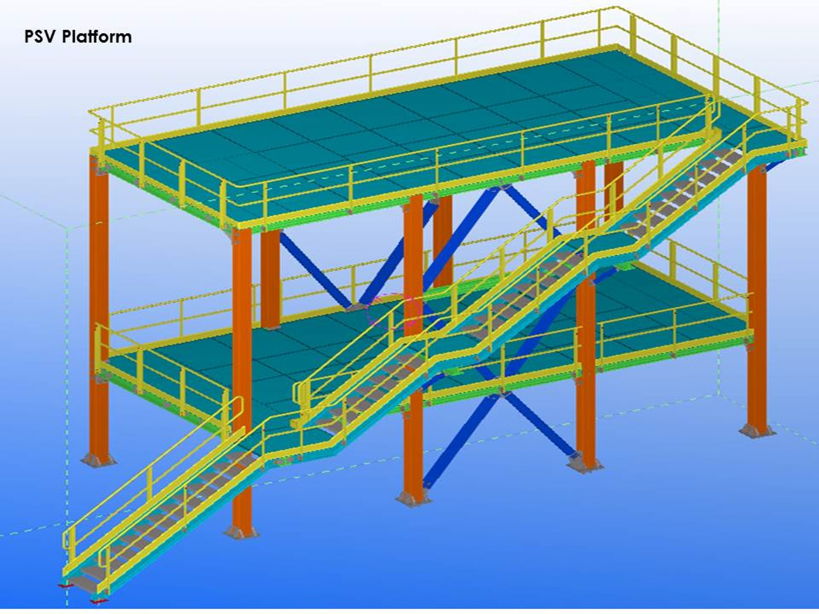 Steel Engineering and Construction Project for an Oil & Gas