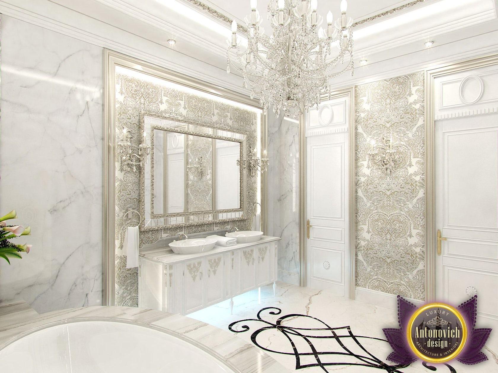 Kitchen Design Usa By Katrina Antonovich: Interior Bathroom From Luxury Antonovich Design