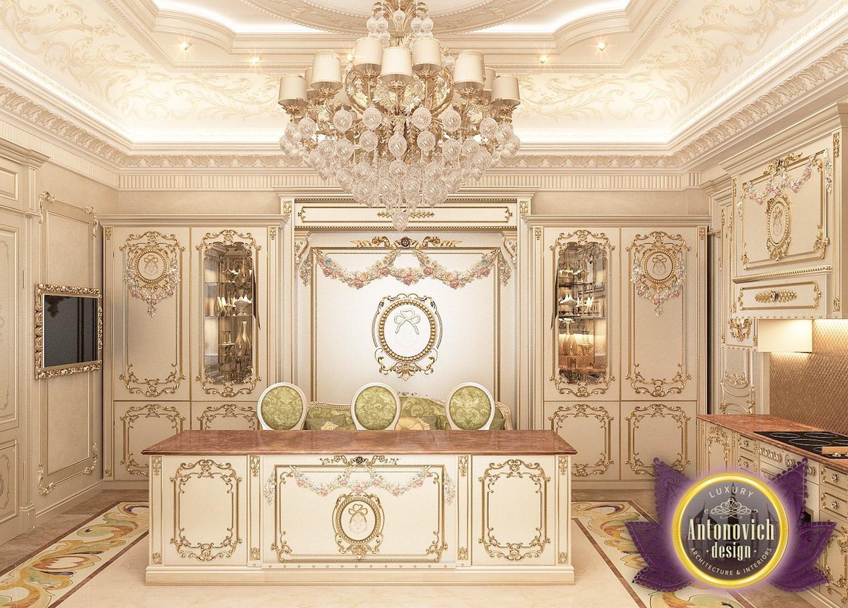 Kitchen Design Usa By Katrina Antonovich: Kitchen Design From Luxury Antonovich Design