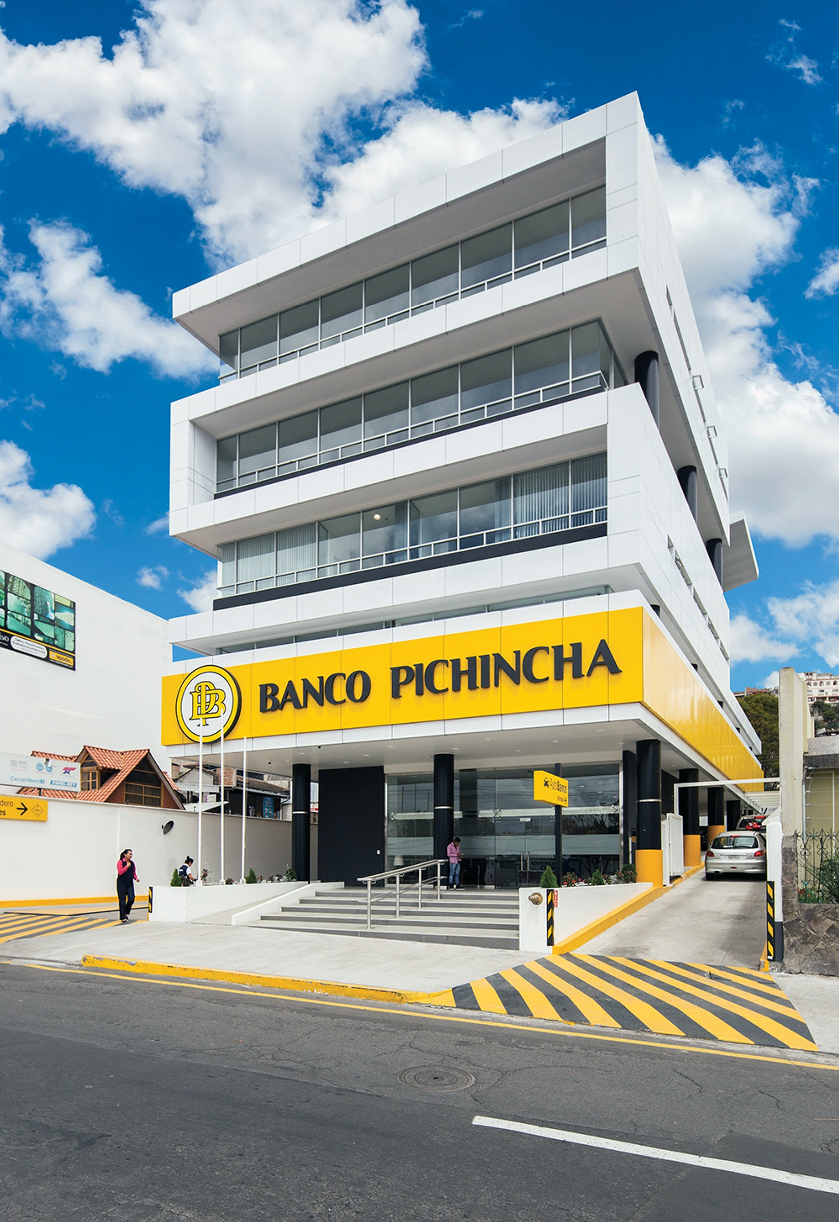 Banco Pichincha And Diners Club Office Headquarters