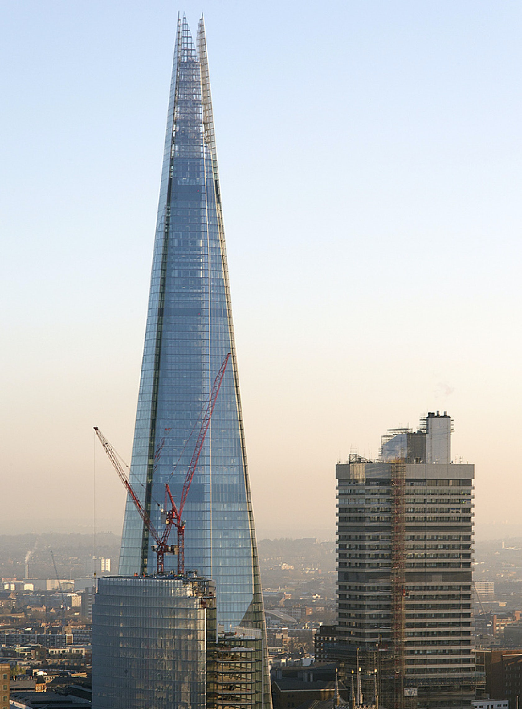 National City Auto Center >> The Shard at London Bridge - Architizer