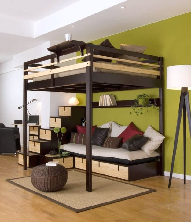 Examples Of The Super Cool Loft Bed For Grownups Architizer Journal