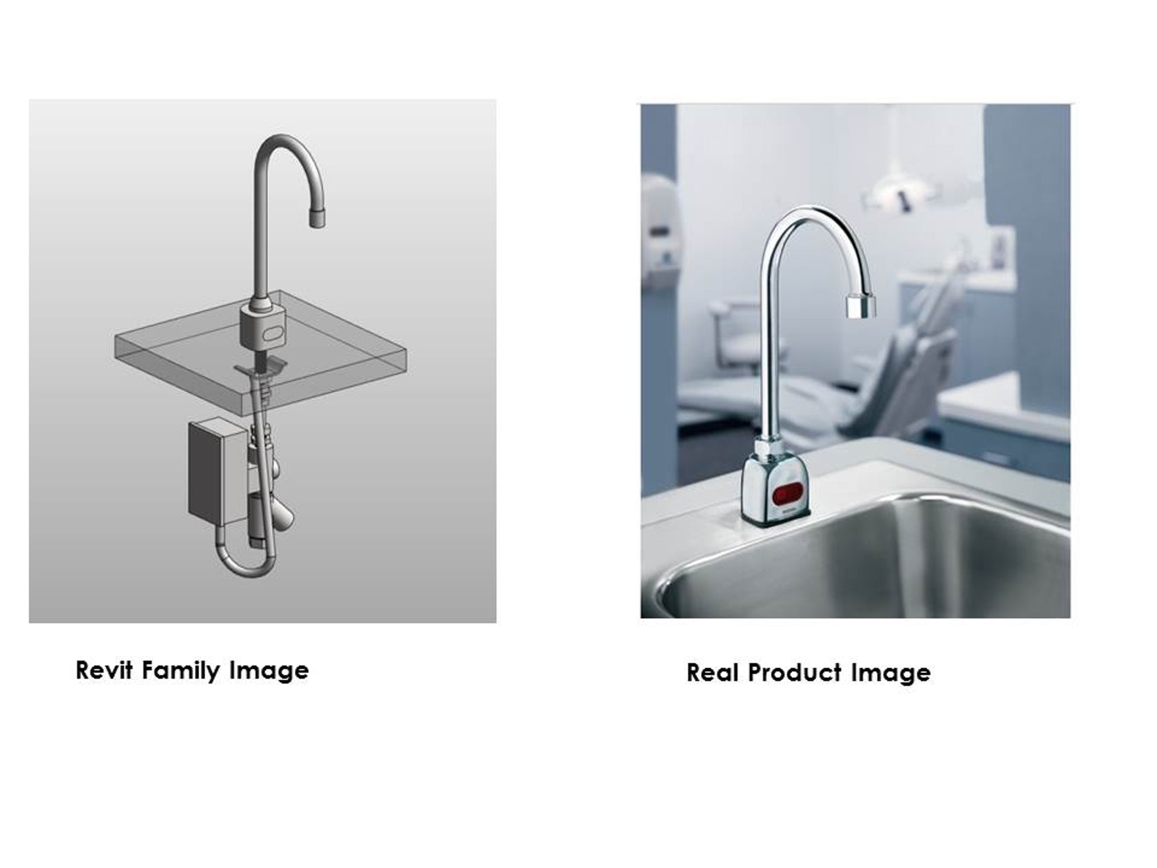 150 Revit Families of Plumbing Products for Manufacturer in North