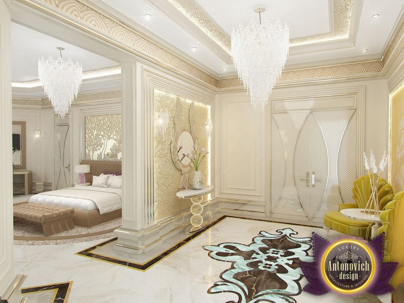 Kitchen Design Usa By Katrina Antonovich: Modern Bedroom Designs By Luxury Antonovich Design