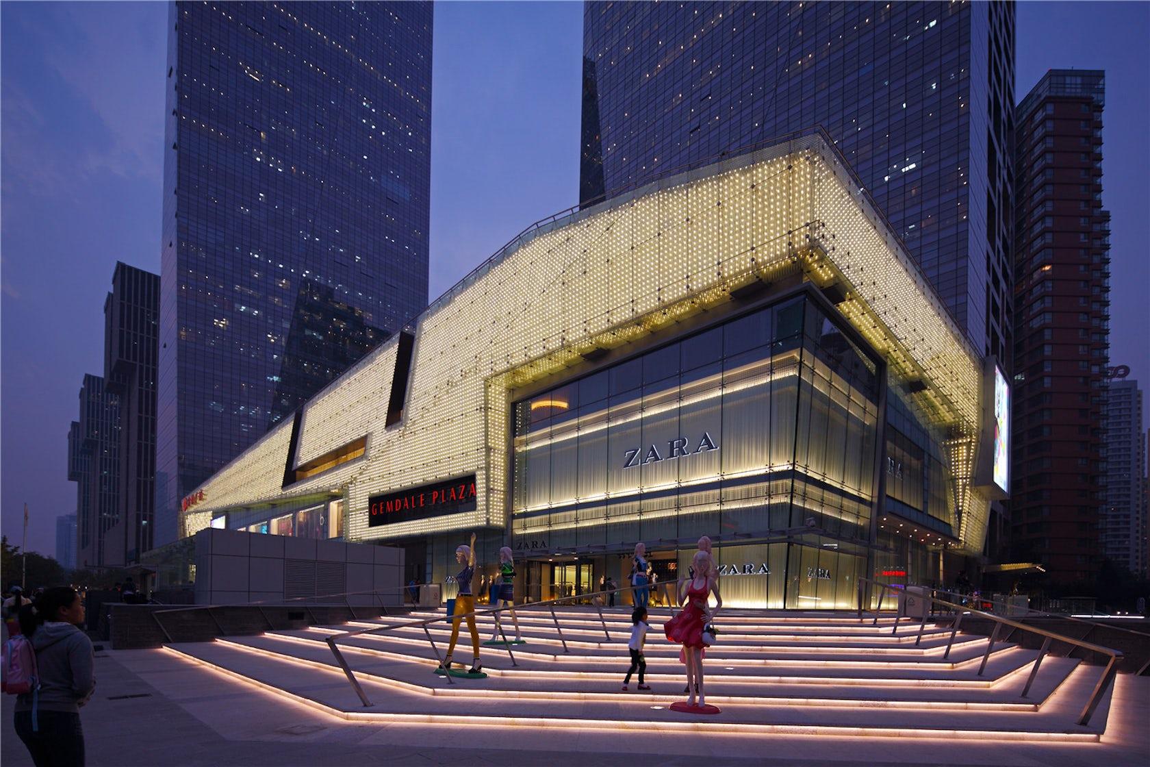 Central Auto Sales >> Beijing Gemdale Plaza - Architizer