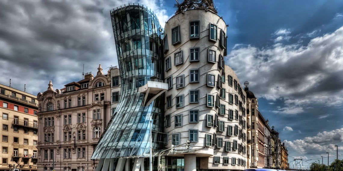 10 Of The Most Famous Tilted Buildings In The World Other Than Pisa Architizer Journal