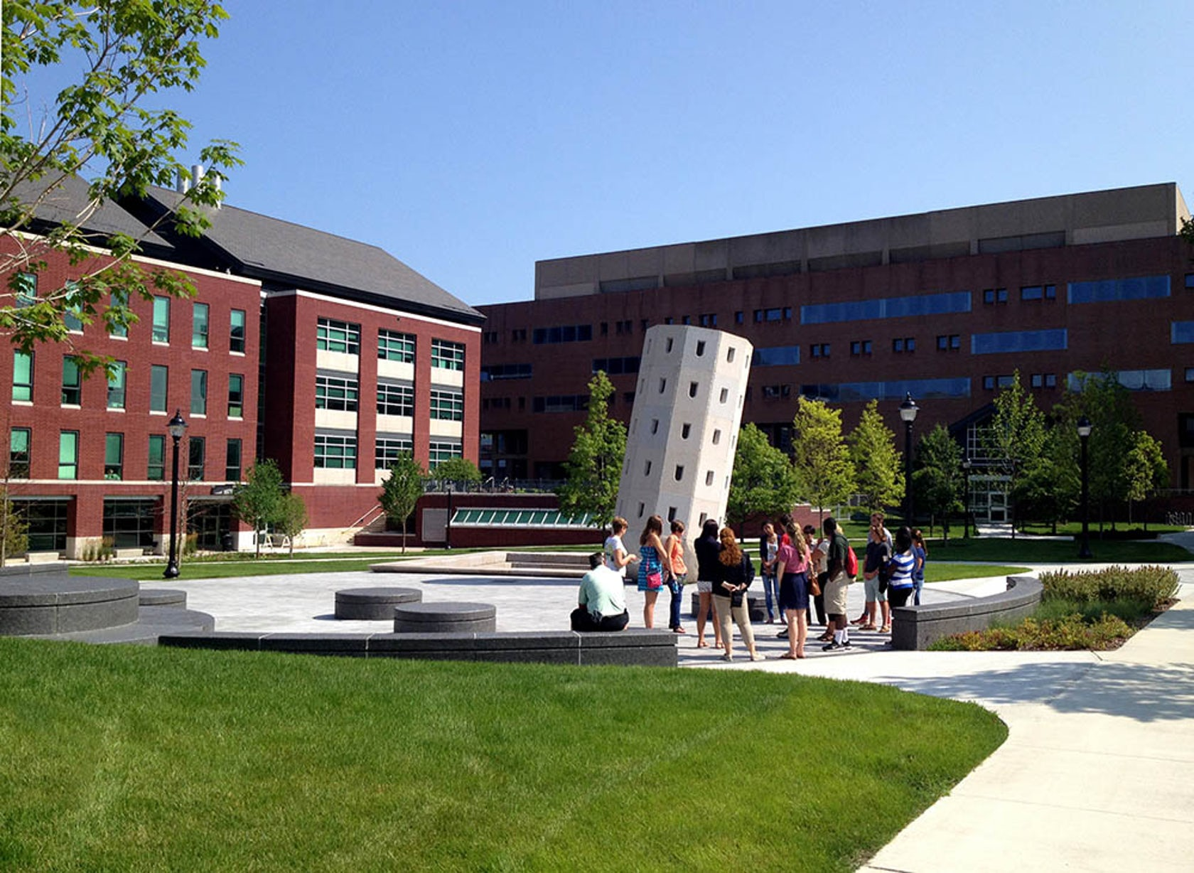 University Of Connecticut Whetton Quadrangle Architizer